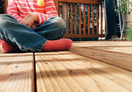 wooden home deck builders Arlington