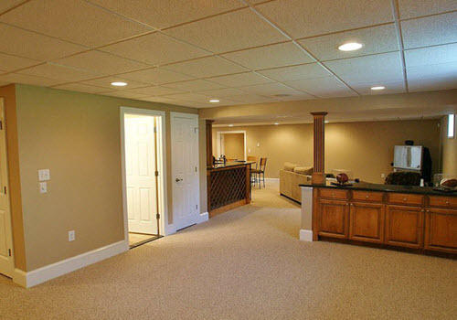 basement remodeling Arlington contractor
